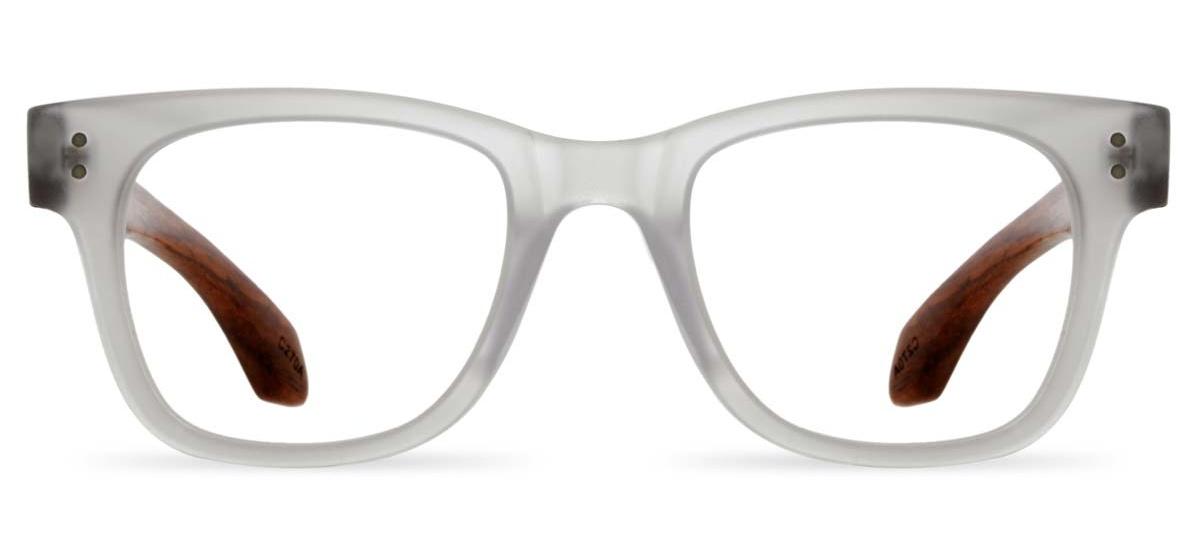 Wooden Optical Frames - Tribe in Crystal Matte Bespecd ...