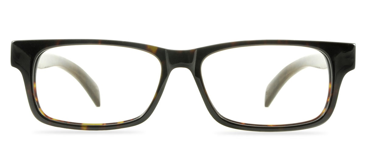 wooden prescription glasses frame vale darkest tortoise