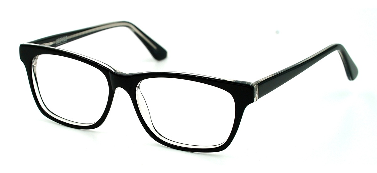 Glasses Frame Dubai : Dubai - Prescription Glasses - Midnight Black and Crystal ...
