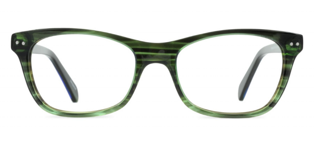 Sydney - Prescription Glasses - Vine Green | Bespecd Eyewear Australia