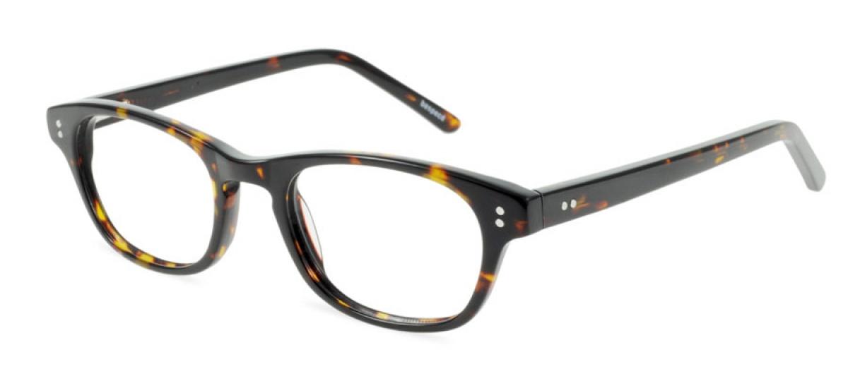Glasses Frame Bridge : Monterey - Prescription Glasses - Dark Tortoise Bespecd ...
