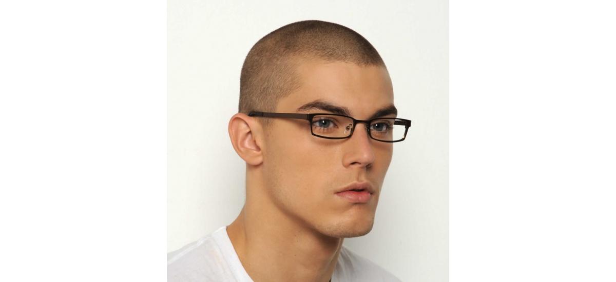 Lancaster - Prescription Glasses - Brown Matte Bespecd ...