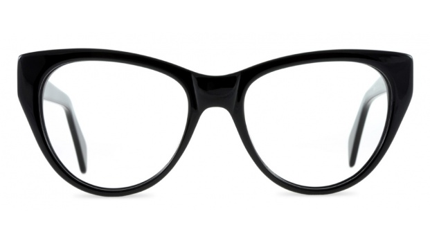 Black Retro Cats Eye Spectacles