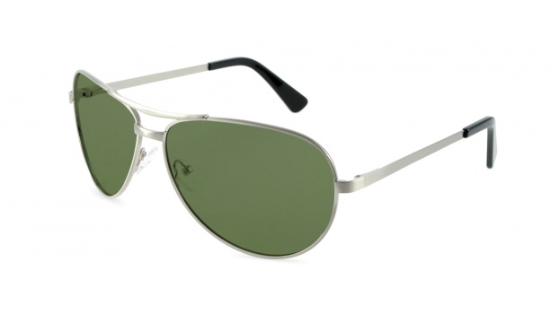 Silver Polarized Prescription Aviators