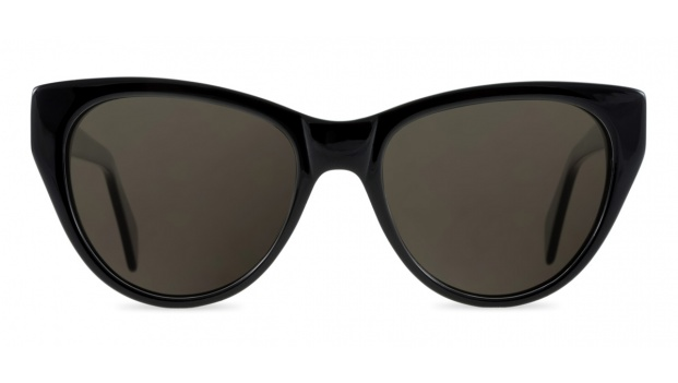 Black Cat Eye Polarised Sunglasses