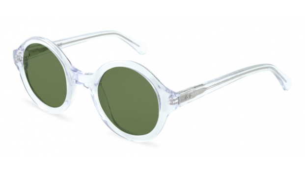 Small Round Clear Sunglasses