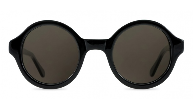 Small Round Black Glasses