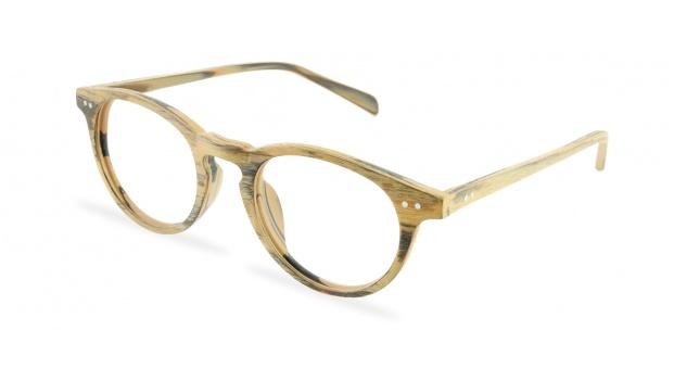 Round Wood Glasses