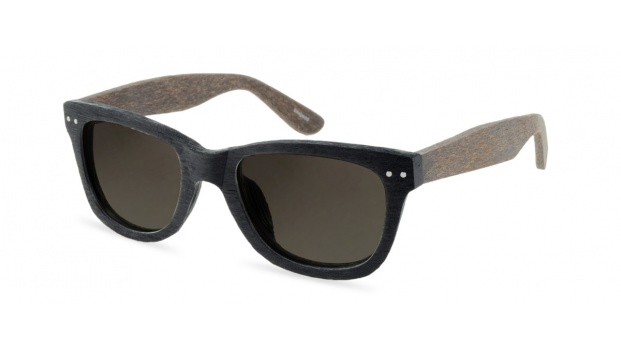Black Wooden Prescription Sunglasses