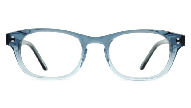 Small Blue Retro Optical Glasses Frame