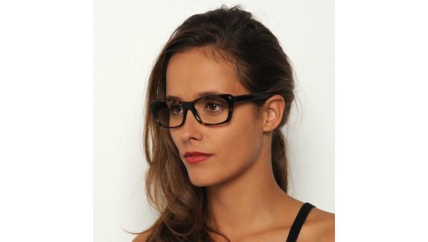 Dark Tortoise Cat Eye Glasses