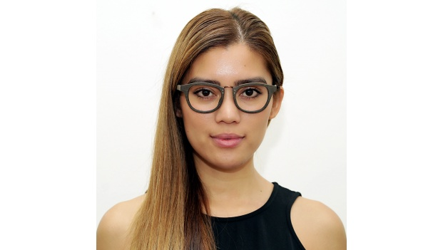 Brown Wooden Glasses with Metal Bridge