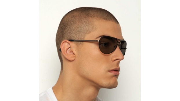 Polarized Prescription Aviator Sunglasses
