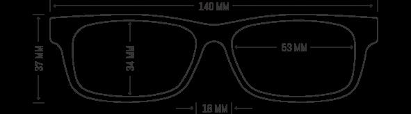 Wood Eye Frames