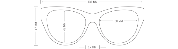 Black Retro Cats Eye Spectacles