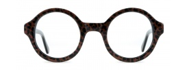 Round Leopard Print Spectacles