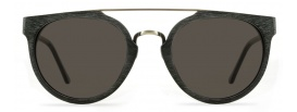 Faux Wooden Sunglasses in Blackwood