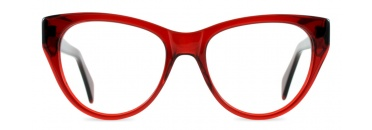 Retro Red Cat Eye Spectacles