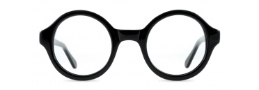 Small Round Black Spectacles