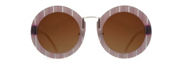 Large Oversized Round Pink Sunglasses
