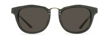 Black Sunglasses Wood Frame