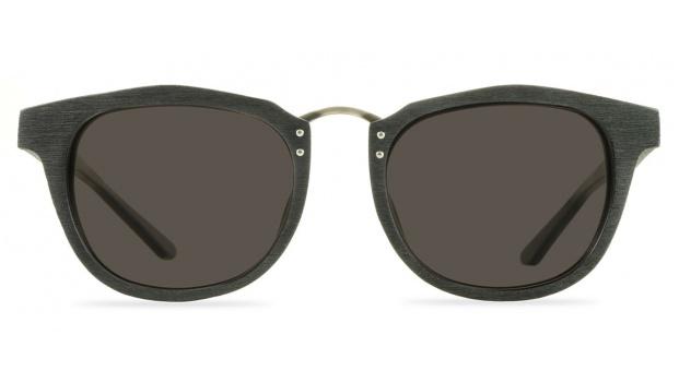 Black Sunglasses Wood Frame