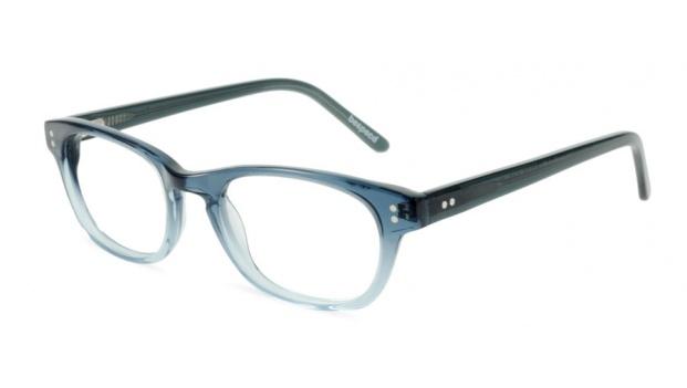 Small Blue Retro Optical Glasses Frame