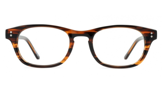Small Retro Optical Frame in Brown Colour
