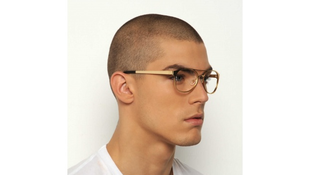 Gold Aviator Glasses Frames