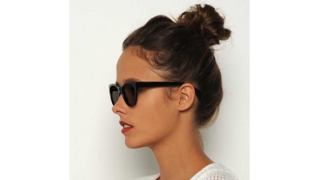 Black Cat Eye Polarised Sunglasses