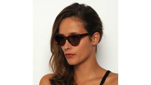 Retro Red Cat Eye Sunglasses