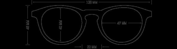 Prescription Wood Glasses