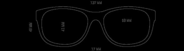 Orange Glasses Frame