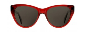 Retro Red Cat Eye Sunglasses