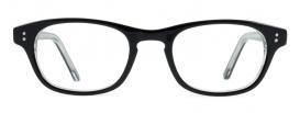 Small Black Retro Optical Glasses Frame